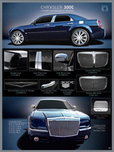 Click Here for Custom Chrysler 300 Accessories