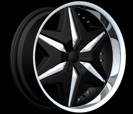 fierro kaos black wheels package 20 inch 22 inch 24. Black Bedroom Furniture Sets. Home Design Ideas