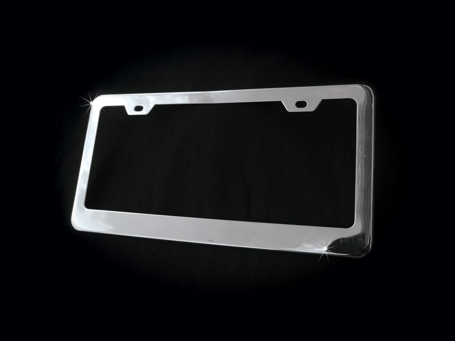Chrome License Plate Frames, Iced Out Lisence Plate Frame, Lisence ...