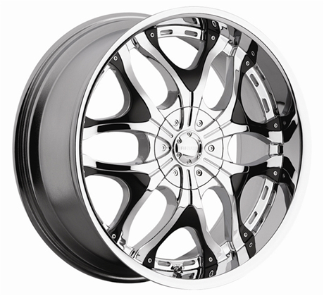 Creation 702 Akuza Wheels Chrome Finish Rims For Sale 20 Inch 22