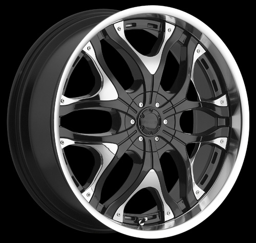 Black Accents Rims For