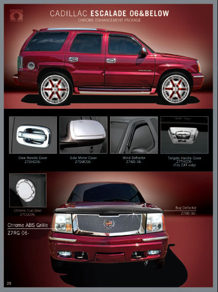 Cadillac Escalade 2002 2003 2004 2005 2006 Accessories
