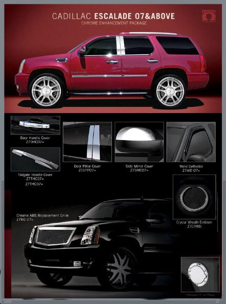 Cadillac Escalade Accessories 2007 2008 2009 2010