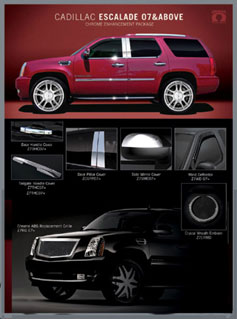 Click Here for Custom 2007 - 2008 Cadillac Escalade Accessories