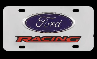 Chrome Ford Racing License