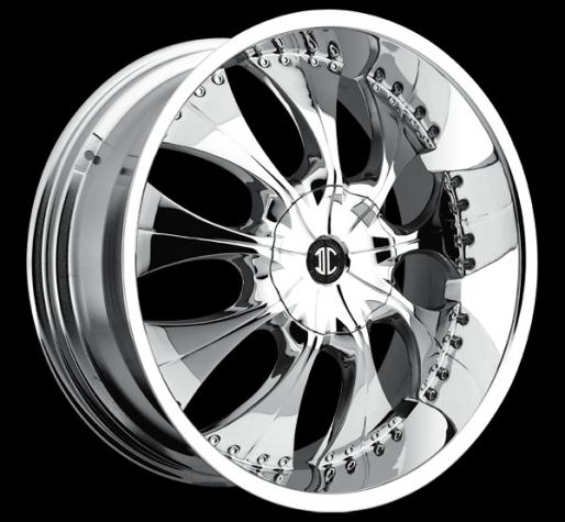 3 chrome crave custom wheels package 24 inch 22 inch. Black Bedroom Furniture Sets. Home Design Ideas