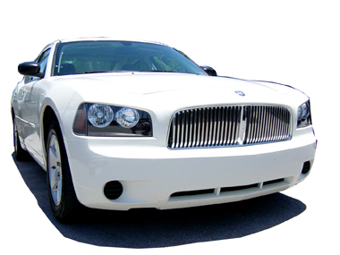 2006-2009 DODGE CHARGER CHROME GRILLE GRILL KIT 2007 2008 06 07 08