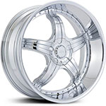 Effen L Diablo  Wheels Chrome