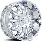 Effen Hustler  Wheels Chrome