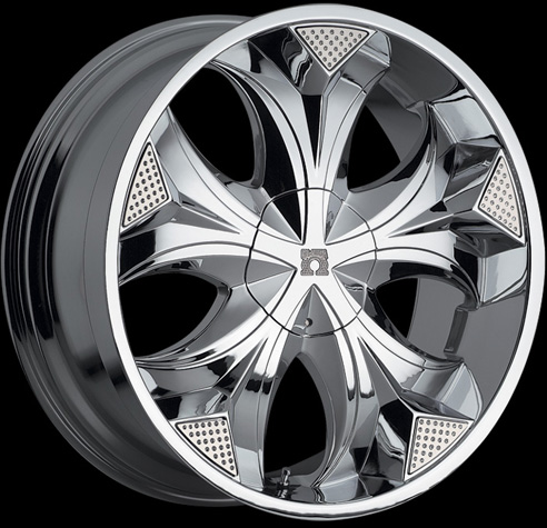 Chrome  Packages on Rims 20 Inch  22 Inch 24 Inch 26 Inch   Chrome Finish Car Rim Packages