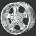 MOB Chrome Wheels Cerone