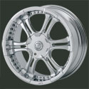 MOB Chrome Wheels Nitti