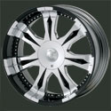 MOB Chrome Wheels Torrio