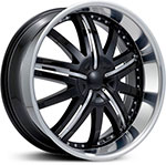 Starr Solja  Wheels Chrome/Black Insert