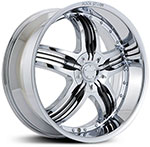 Starr Legend  Wheels Chrome