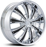 Starr Genesis  Rims Chrome