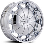 Starr Dynasty  Wheels Chrome