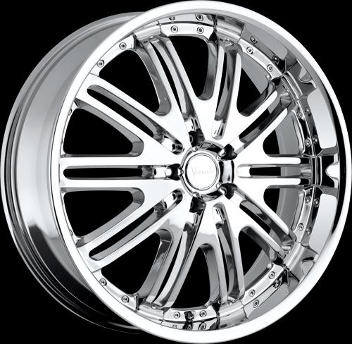 403 chrome 5 lug sevizia custom wheels package 20 inch. Black Bedroom Furniture Sets. Home Design Ideas