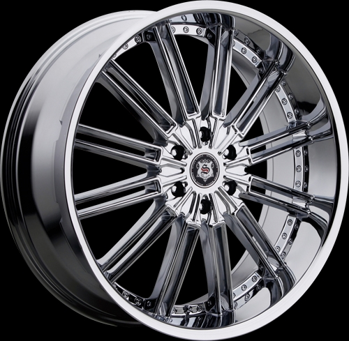 Package 20 inch 22 inch 24 inch 6 lug 428 chrome rims for sale