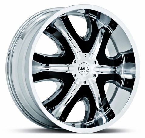 Chrome  Packages on Donk S807 Chrome Wheels Package   20 Inch 22 Inch   24 Inch Chrome