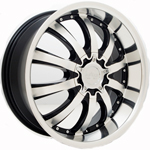 Starr Marquis  Wheels Machined Black