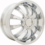 Starr Marquis  Wheels Chrome