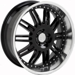 Starr Bucten  Wheels Machined Black