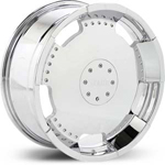 Starr Full Plate  Wheels Chrome
