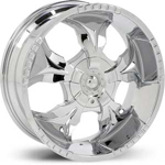 Starr Hammer  Wheels Chrome