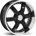 Starr Sith  Rims Black / Machined