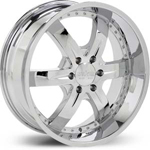Starr Sith  Wheels Chrome
