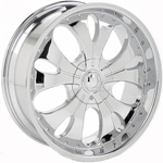 Starr 809  Rims Chrome