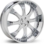 Starr Goliath  Wheels Chrome