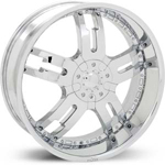 Starr Dominator  Wheels Chrome