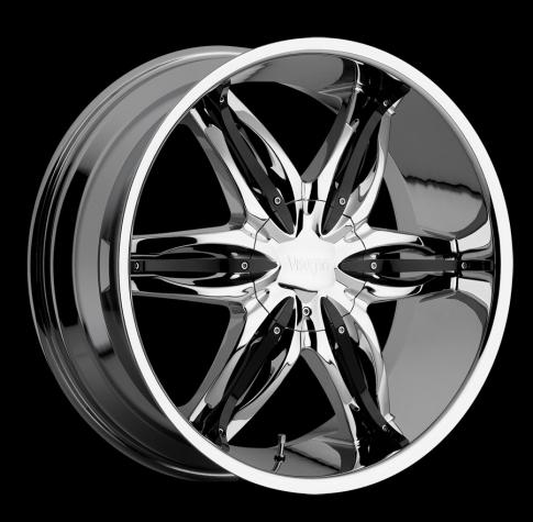 Viscera 778 Wheels Chrome W Black Inserts Rims For Sale